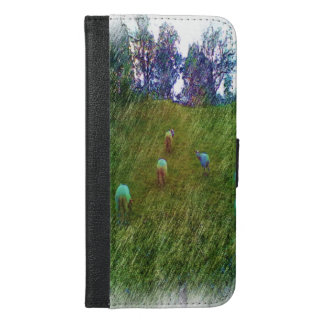 Many Sheep iPhone 6/6s Plus Wallet Case