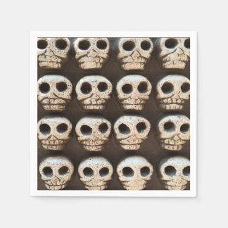 Many Skulls DOD Party Paper Napkins