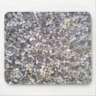 Many small stones mouse pad