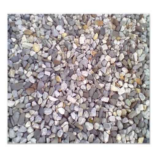Many small stones art photo