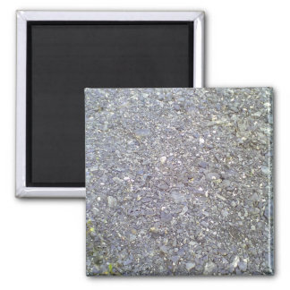 Many Stone Square Magnet