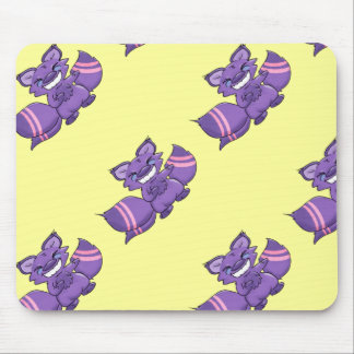 Many Tailed Fairytale Fox Mouse Pad