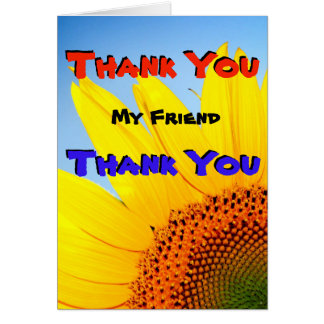 Many Thanks My Friend Card