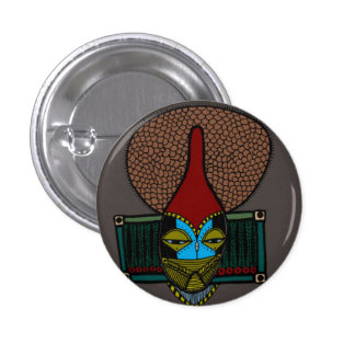 Many Thoughts 3 Cm Round Badge