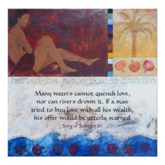 Many waters cannot quench love, n... poster