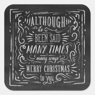Many Ways | Holiday Stickers
