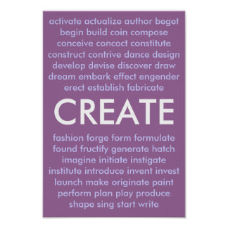 Many ways to create poster