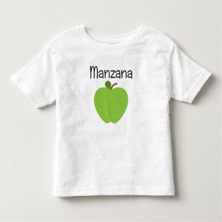 Manzana (Apple) Green Toddler T-Shirt