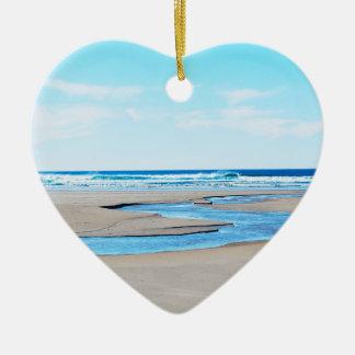Manzanita Beach - Coastline Christmas Ornament