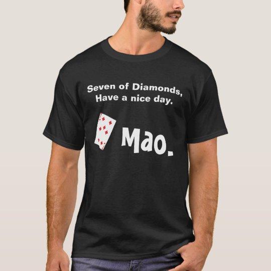 Mao card game T-Shirt