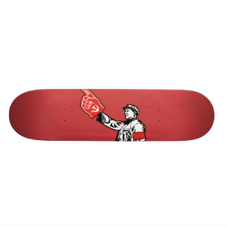 Mao - Communism is #1 18.1 Cm Old School Skateboard Deck