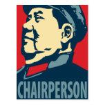 Mao Tse-Tung - Chairperson: OHP Postcard