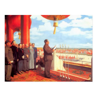 Mao Zedong Post Card