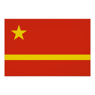Mao Zedong S Proposal For The Prc flag Print