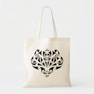 Maori design tote bag