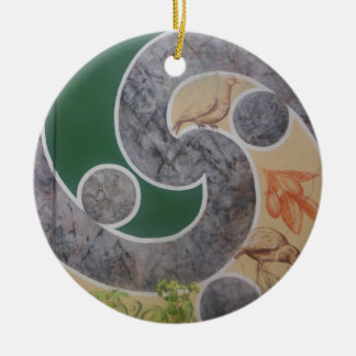 maori designs 5 christmas ornament