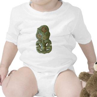 Maori Hei-Tiki Infant Rompers