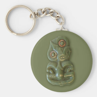 Maori Hei-Tiki Keychain