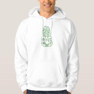 Maori Hei-Tiki Sketch Hoodie