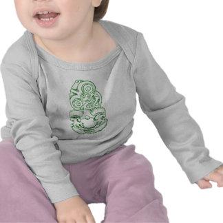 Maori Hei-Tiki Sketch Infant Shirt