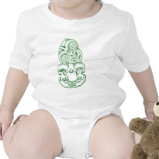 Maori Hei-Tiki Sketch Infant Creeper