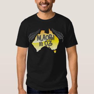 Maori in oz tee shirts