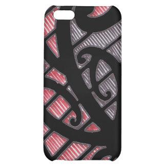 "Maori 'Koru"" Kulture tattoo Iphone case Cover For iPhone 5C"