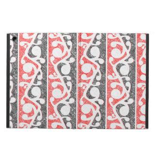 Maori Kowhaiwhai Distressed Pattern Cover For iPad Air