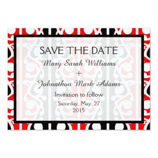 Maori Kowhaiwhai New Zealand Wedding 13 Cm X 18 Cm Invitation Card