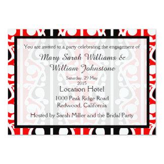 Maori Kowhaiwhai Party Engagement Invitation