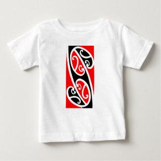 Maori Kowhaiwhai Pattern 2 Baby T-Shirt