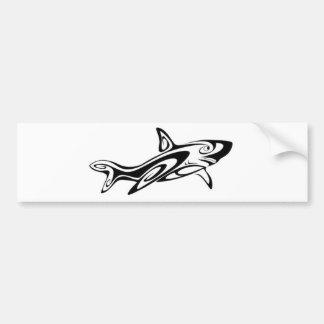 Maori Shark Bumper Sticker