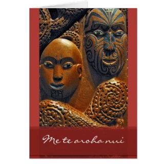 Maori Valentine's Day Card