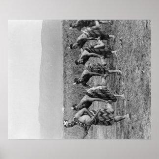 Maori War Dance Photograph Posters