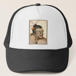 Maori Warrior about 1784 Trucker Hat