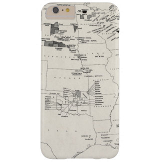 MAP: AMERICAN INDIANS 2 BARELY THERE iPhone 6 PLUS CASE