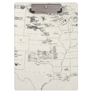 MAP: AMERICAN INDIANS 2 CLIPBOARDS