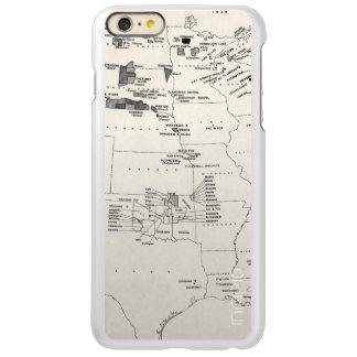 MAP: AMERICAN INDIANS 2 iPhone 6 PLUS CASE