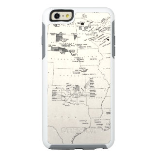 MAP: AMERICAN INDIANS 2 OtterBox iPhone 6/6S PLUS CASE