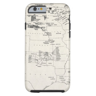 MAP: AMERICAN INDIANS 2 TOUGH iPhone 6 CASE