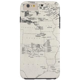 MAP: AMERICAN INDIANS 2 TOUGH iPhone 6 PLUS CASE