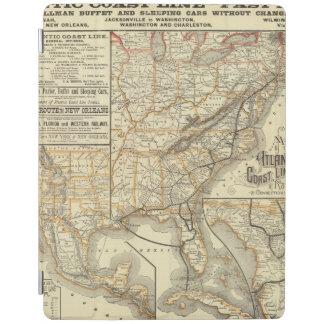 Map Atlantic Coast Line iPad Cover