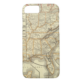 Map Atlantic Coast Line iPhone 8/7 Case