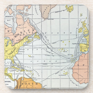 MAP: ATLANTIC VOYAGES COASTER