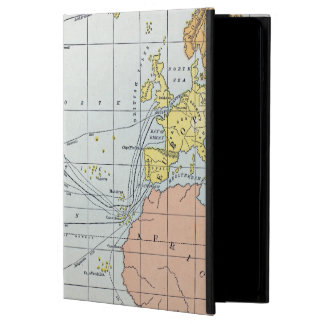 MAP: ATLANTIC VOYAGES COVER FOR iPad AIR