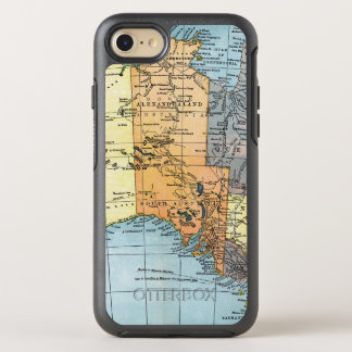 MAP: AUSTRALIA, c1890 OtterBox Symmetry iPhone 8/7 Case