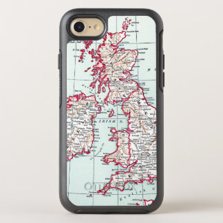 MAP: BRITISH ISLES, c1890 OtterBox Symmetry iPhone 8/7 Case
