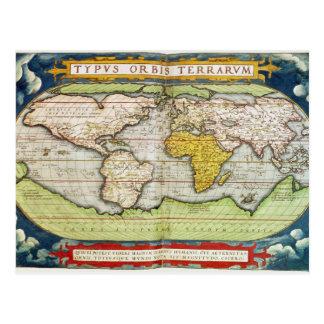 Map charting Sir Francis Drake s Postcards
