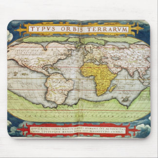 Map charting Sir Francis Drake's Mouse Mat