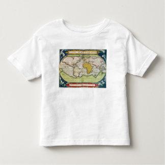 Map charting Sir Francis Drake's T-shirt